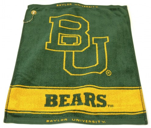 Baylor Bears Woven Golf Towel
