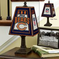 Chicago Bears NFL Hand-Painted Art Glass Table Lamp