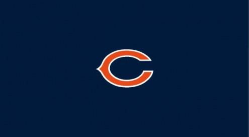 Chicago Bears NFL Team Logo Billiard Cloth
