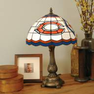 Chicago Bears NFL Stained Glass Table Lamp