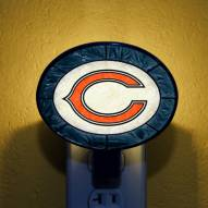 Chicago Bears NFL Stained Glass Night Light