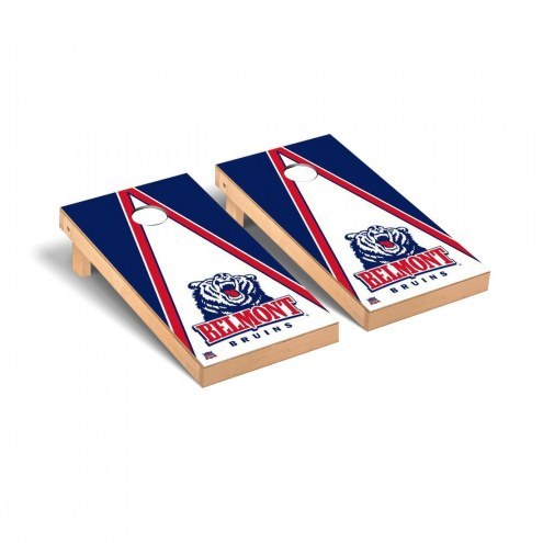 Belmont Bruins Triangle Cornhole Game Set