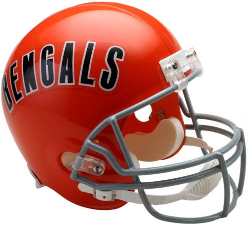 Riddell Cincinnati Bengals 1968-79 Deluxe Collectible Throwback NFL Football Helmet