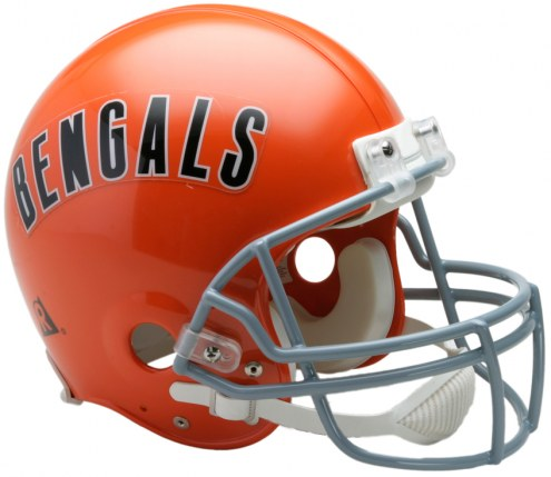 Riddell Cincinnati Bengals 1968-79 Authentic Throwback NFL Football Helmet - Full Size