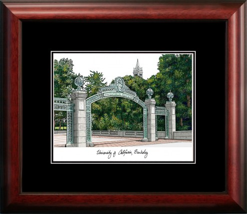 University of California Berkley Academic Framed Lithograph