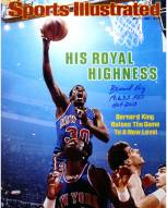 """Bernard King Signed Sports Illustrated Cover 16 x 20 Photo w/ """"19,655 Pts HOF 2013"""""""