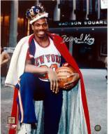 Bernard King With Crown in Front of the Garden Vertical 8 x 10 Photo