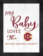 Bethune-Cookman Wildcats My Baby Loves Framed Print