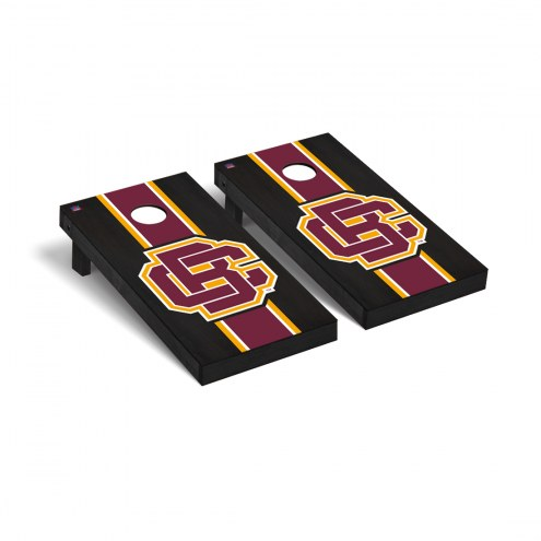 Bethune-Cookman Wildcats Onyx Stained Cornhole Game Set