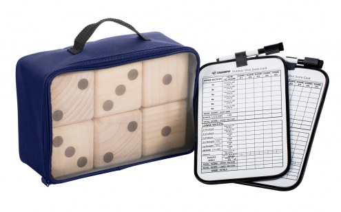 Triumph Big Roller Lawn Dice Game with Scoreboards