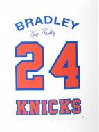 Bill Bradley Signed Retired Number 26x36 Canvas