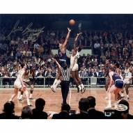 Bill Russell Signed Horizontal Color Shot 8 x 10 Photo