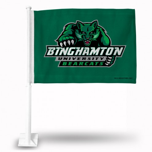 Binghamton Bearcats Car Flag