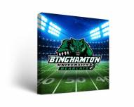 Binghamton Bearcats Stadium Canvas Wall Art