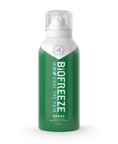 BioFreeze Classic Pain Relieving 360 Degree Spray - 3 Oz.