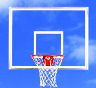 Bison Clear Acrylic Basketball Backboard and Goal