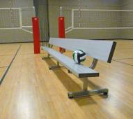Bison 15' Fixed Player Bench with Backrest