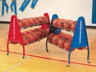 Bison 18 Ball Heavy Duty Basketball Cart