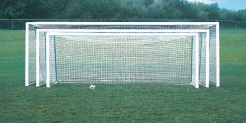 Bison 24' x 8' ShootOut Square Post Portable Soccer Goals