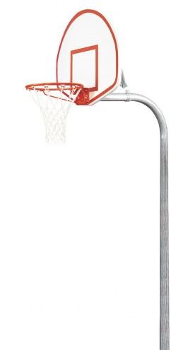 "Bison 3 1/2"" Tough Duty Aluminum Fan Playground Basketball Hoop"