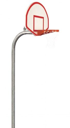 "Bison 4 1/2"" Heavy Duty Steel Fan Playground Basketball System"