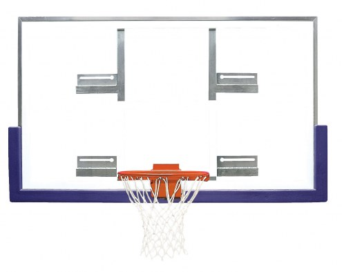 "Bison 42"" x 72"" Extended Life Short Glass Conversion Basketball Backboard"