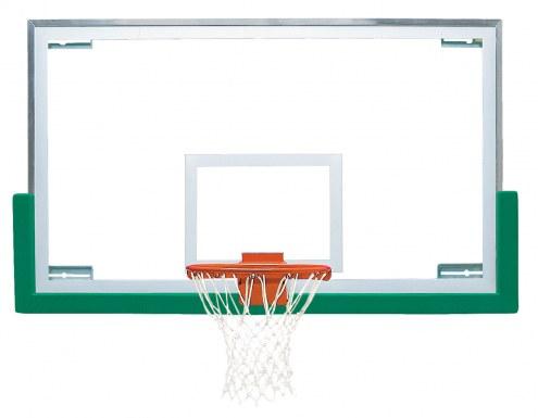 "Bison 42"" x 72"" Unbreakable Short Glass Basketball Backboard"