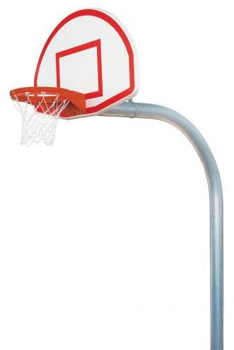"Bison 5 9/16"" Mega Duty Aluminum Fan Playground Basketball Hoop"