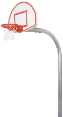 "Bison 5 9/16"" Mega Duty Steel Fan Playground Basketball System"