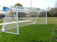 Bison 24' x 8' All Aluminum ShootOut No-Tip Portable Soccer Goals