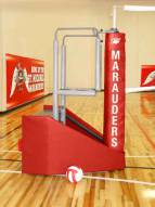 Bison Arena Jr. Freestanding Portable Volleyball System
