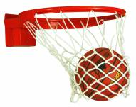 "Bison Baseline Collegiate 180° Competition Breakaway Basketball Goal for 42"" Backboards"