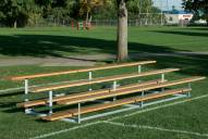 Bison Build Your Own 16' 4 Tier Outdoor Bleacher