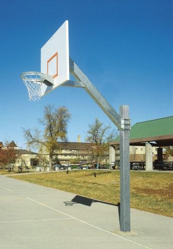 Bison Coastal Aluminum Basketball System