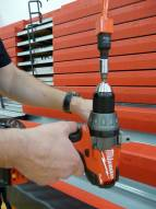 Bison Cordless Manual Winch Winder with Drive Shaft