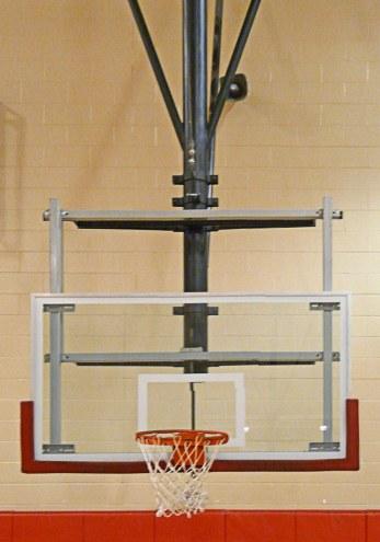 "Bison Electric Zip Crank Height Adjuster for 42"" x 72"" Backboards"