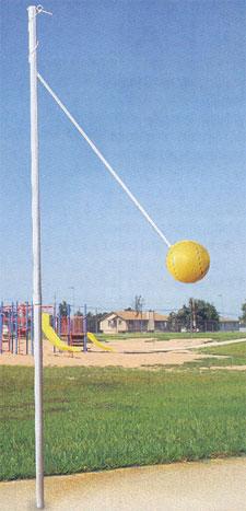 Bison Outdoor In-Ground Tetherball Set