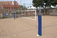 Bison Match Point Competition Outdoor Volleyball System