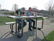 Bison Outdoor Sports Scoring Table