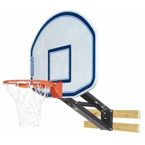 Bison PKG250 QuickChange Graphite Wall Mounted Adjustable Basketball Hoop