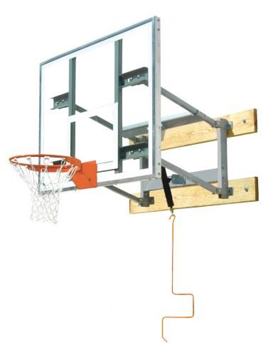 Bison PKG650 Glass Shooting Station Wall Mounted Adjustable Basketball Hoop