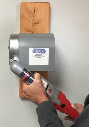 Bison Portable 110 Volt Hand Winch Driver