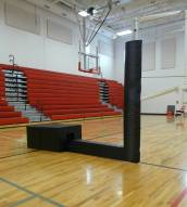 Bison QwikCourt Competition Volleyball System