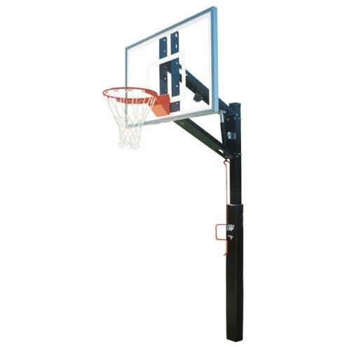 Bison Lottery Pick Removable Adjustable Basketball Hoop