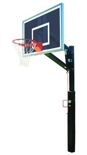 Bison Smoked Lottery Pick Removable Adjustable Basketball Hoop