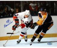 Bob Bourne vs. Kings 8 x 10 Photograph