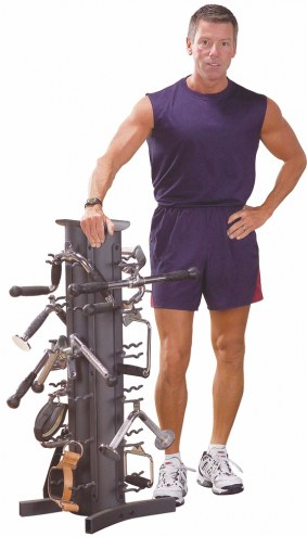Body Solid Accessory Rack