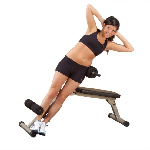 Body Solid Best Fitness Ab Board Hyperextension