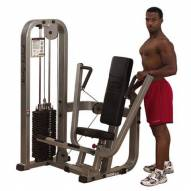 Body Solid Chest Press Machine with 210 lb. Weight Stack