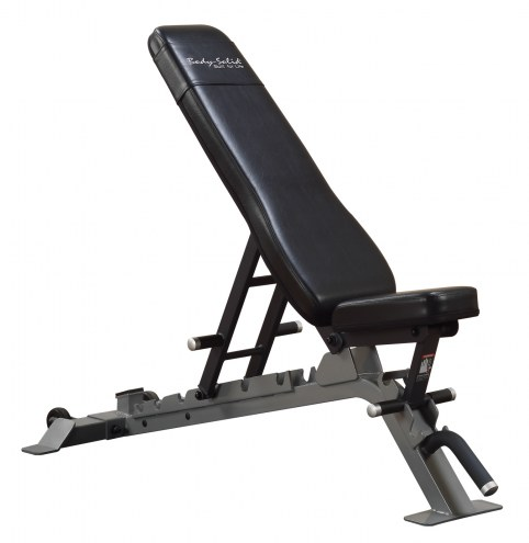 Body Solid Commercial Flat/Incline/Decline Bench